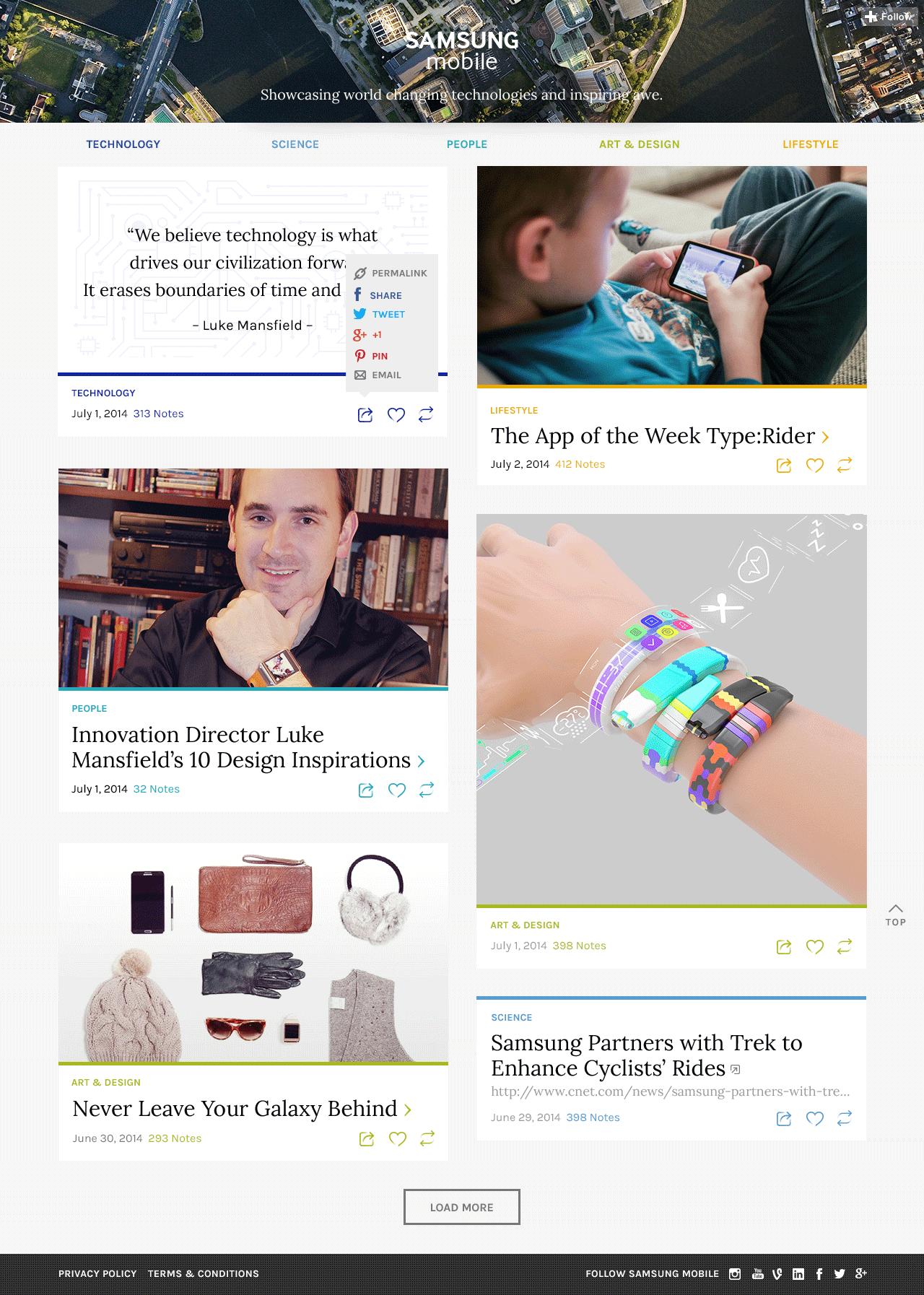 samhub_homepage